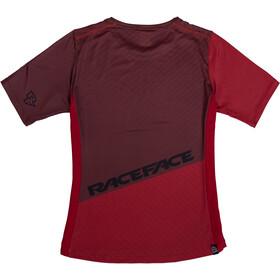 Race Face Indy Shortsleeve Jersey Women, czerwony